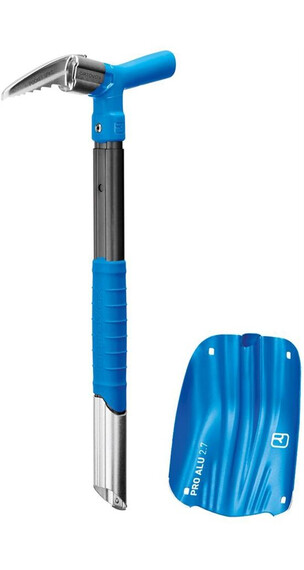 Ortovox Pro Alu III+Pocket Spike Blue